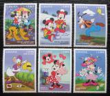 Poštovní známky Ghana 1998 Disney postavičky Mi# 2685-90