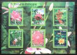 Poštovní známky Svatý Tomáš 2010 Květiny Mi# 4793-98