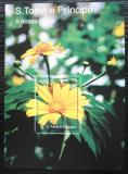 Poštovní známka Svatý Tomáš 2010 Květiny Mi# Block 816 Kat 10€