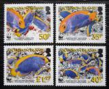 Poštovní známky Ascension 2007 Ryby, WWF Mi# 989-92 Kat 10€