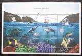 Poštovní známky Tanzánie 1999 Mořská fauna Mi# 3864-75 Kat 13€