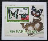 Poštovní známka Togo 2010 Motýli DELUXE neperf. Mi# 3406 B Block