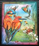 Poštovní známka SAR 2012 Ptáci a včely Mi# Block 948 Kat 14€
