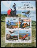 Poštovní známky Guinea-Bissau 2011 Fauna na Galapágách Mi# 5283-86 Kat 14€