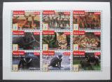 Poštovní známky Sierra Leone 1995 Fauna Mi# 2276-84 Kat 11€