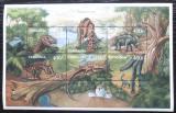 Poštovní známky Tanzánie 1997 Dinosauři Mi# 3418-23 Kat 10€
