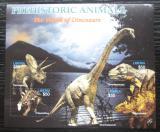 Poštovní známky Libérie 2005 Dinosauři Mi# 5045-48 Kat 11€