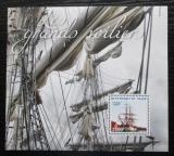 Poštovní známka Niger 2015 Plachetnice Mi# Block 336 Kat 10€