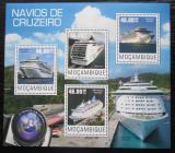 Poštovní známky Mosambik 2014 Výletní lodě Mi# 7645-48 Kat 10€