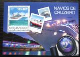 Poštovní známka Mosambik 2014 Výletní lodě Mi# Block 969 Kat 10€