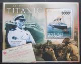 Poštovní známka Togo 2011 Loď Titanic Mi# Block 658 Kat 12€
