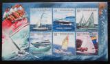 Poštovní známky Guinea 2010 Plachetnice a jachty Mi# 7487-92 Kat 12€