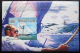 Poštovní známka Guinea 2010 Plachetnice a jachty Mi# Block 1821 Kat 10€