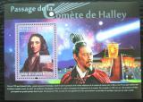 Poštovní známka Guinea 2010 Halleyova kometa Mi# Block 1838 Kat 10€