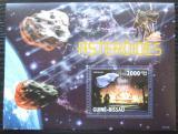 Poštovní známka Guinea-Bissau 2010 Asteroidy Mi# Block 741 Kat 8€