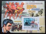 Poštovní známka Guinea-Bissau 2010 Elvis Presley Mi# Block 742 Kat 12€