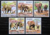 Poštovní známky Svatý Tomáš 2010 Sloni Mi# 4464-68 Kat 11€