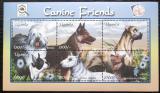 Poštovní známky Uganda 2001 Psi Mi# 2382-87 Kat 15€