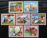 Poštovní známky Paraguay 1985 Román Tom Sawyer Mi# 3887-93 Kat 6.50€