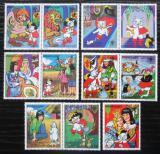 Poštovní známky Paraguay 1982 Kocour v botách Mi# 3482-88 Kat 7.50€