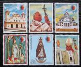 Poštovní známky Paraguay 1983 Papež Jan Pavel II. Mi# 3621-26