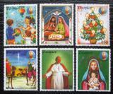 Poštovní známky Paraguay 1984 Papež Jan Pavel II., vánoce Mi# 3726-31