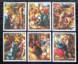 Poštovní známky Paraguay 1982 Umění, Život Krista Mi# 3568-73 Kat 7€