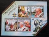 Poštovní známky Niger 2014 Papež Jan Pavel II. Mi# 2890-93 Kat 12€