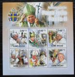 Poštovní známky Guinea-Bissau 2011 Papež Jan Pavel II. Mi# 5361-66 Kat 14€