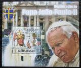 Poštovní známka Guinea-Bissau 2011 Papež Jan Pavel II. Mi# Block 923 Kat 11€