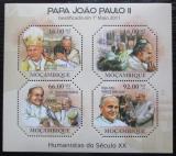 Poštovní známky Mosambik 2011 Papež Jan Pavel II. Mi# 4697-4700 Kat 11€