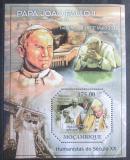 Poštovní známka Mosambik 2011 Papež Jan Pavel II. Mi# Block 473 Kat 10€