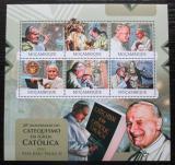 Poštovní známky Mosambik 2012 Papež Jan Pavel II. Mi# 6041-46 Kat 14€