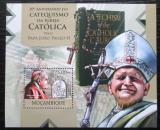 Poštovní známka Mosambik 2012 Papež Jan Pavel II. Mi# Block 673 Kat 10€