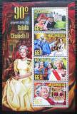 Poštovní známky Mosambik 2016 Královna Alžběta II. Mi# 8539-42 Kat 15€