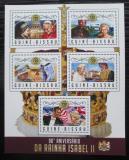 Poštovní známky Guinea-Bissau 2016 Královna Alžběta II. Mi# 8991-95 Kat 13.50€