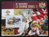 Poštovní známka Guinea-Bissau 2016 Královna Alžběta II. Mi# Block 1554 Kat 13.50€