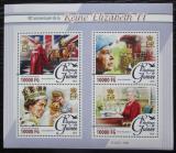 Poštovní známky Guinea 2016 Královna Alžběta II. Mi# 11568-71 Kat 16€