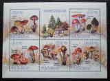 Poštovní známky Guinea-Bissau 2010 Houby Mi# 4623-27 Kat 15€