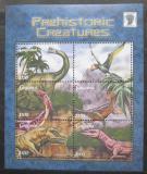 Poštovní známky Guyana 2001 Dinosauři Mi# 7282-87 Kat 12€