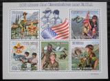 Poštovní známky Svatý Tomáš 2010 Skauting v USA, 100. výročí Mi# 4424-28 Kat 11€