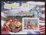 Poštovní známka Svatý Tomáš 2010 Skauting v USA,100. výročí Mi# Block 762 Kat 11€