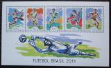 Poštovní známky Guinea-Bissau 2014 MS ve fotbale Mi# 7074-78 Kat 13€
