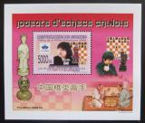 Poštovní známka Guinea 2008 Čínští šachisti DELUXE Mi# 6156 Block