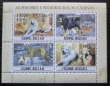 Poštovní známky Guinea-Bissau 2010 Psi Mi# 4890-93 Kat 13€