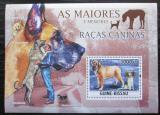 Poštovní známka Guinea-Bissau 2010 Psi Mi# Block 820 Kat 12€