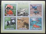 Poštovní známky Guinea-Bissau 2010 Fauna Mi# 4804-08 Kat 13€