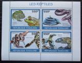 Poštovní známky Togo 2010 Obojživelníci a plazi Mi# 3429-32 Kat 8.50€
