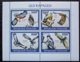 Poštovní známkyTogo 2010 Dravci Mi# 3439-42 Kat 8.50€