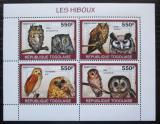 Poštovní známky Togo 2010 Sovy Mi# 3444-47 Kat 8.50€
